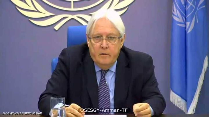 غريفيث: المجتمع الدولي يريد تفعيل اتفاق ستوكهولم