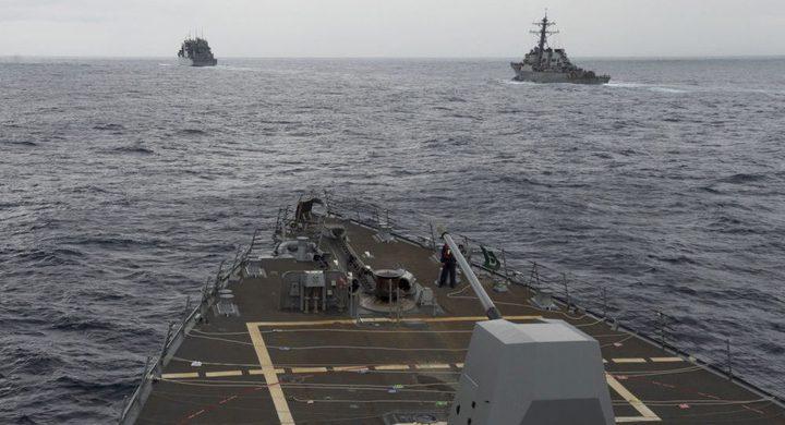 البحرية الأمريكية تختبر قذائف أسرع من الصوت