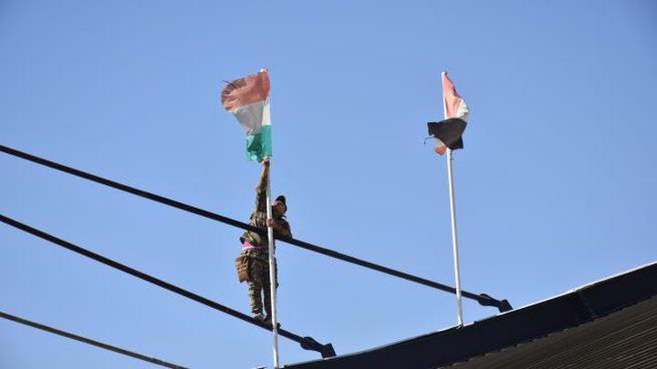 تصعيد خطير في كركوك بعد رفع علم إقليم كردستان العراق