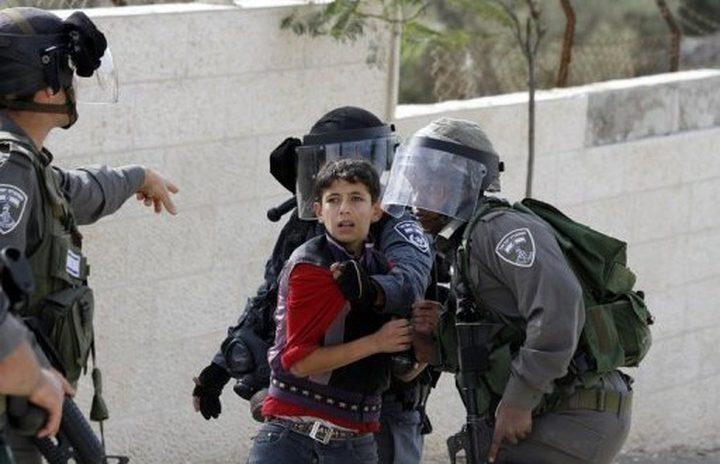 الاحتلال يعتقل طفلا من بيت فجار جنوب بيت لحم