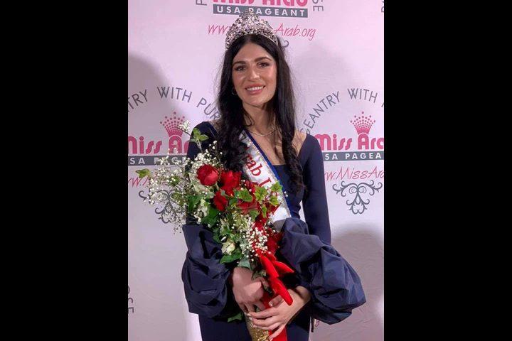 شاهد: ملكة جمال العراق في أمريكا