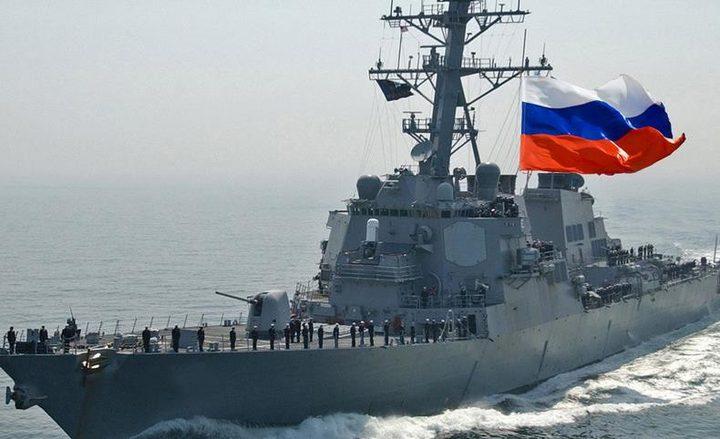 سفن عسكرية روسية تعبر موانئ السودان
