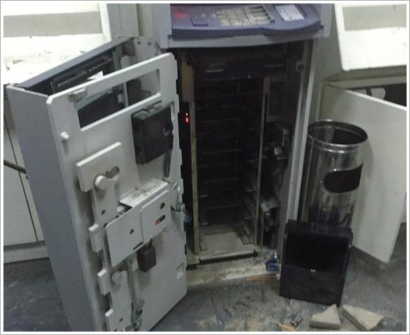 مجهولون يسرقون صراف آلي لبنك غرب رام الله