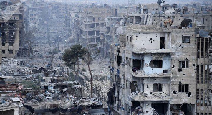 الاحمد وأبو يوسف إلى سوريا غدا لبحث اعادة اعمار مخيم اليرموك