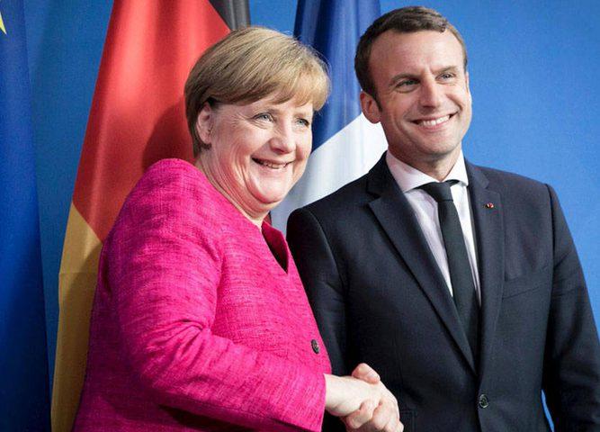 ماكرون وميركل يوقعان معاهدة فرنسية- ألمانية جديدة