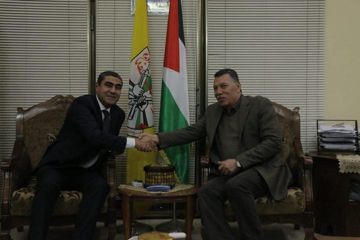 الوفد الأمني المصري يجتمع مع القيادي بفتح أحمد حلس في غزة