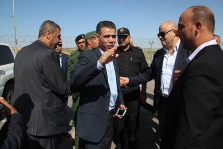 وفد أمني مصري يصل غزة عبر معبر بيت حانون