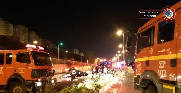 مصرع شابين بحادث سير قرب حيفا