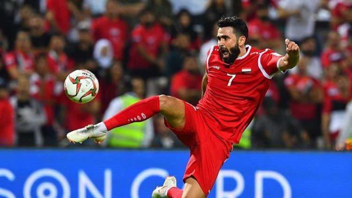فرص سوريا في التأهل إلى دور الـ 16 لكأس آسيا 2019