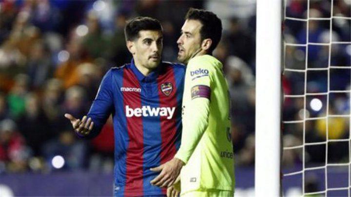 سيلسن يحفظ ماء وجه برشلونة أمام ليفانتي