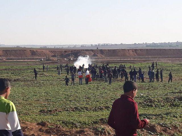 مركزحقوقي يرصدانتهاكات الاحتلال في الجمعةال42 لمسيرات العودة