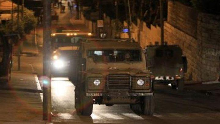 قوات الاحتلال تقتحم عدة مناطق في رام الله