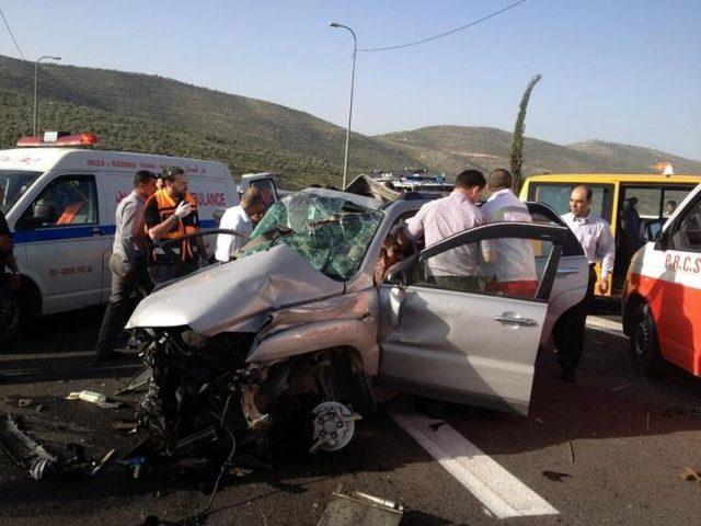 الشرطة 124 إصابة في 223 حادث سير الأسبوع الماضي