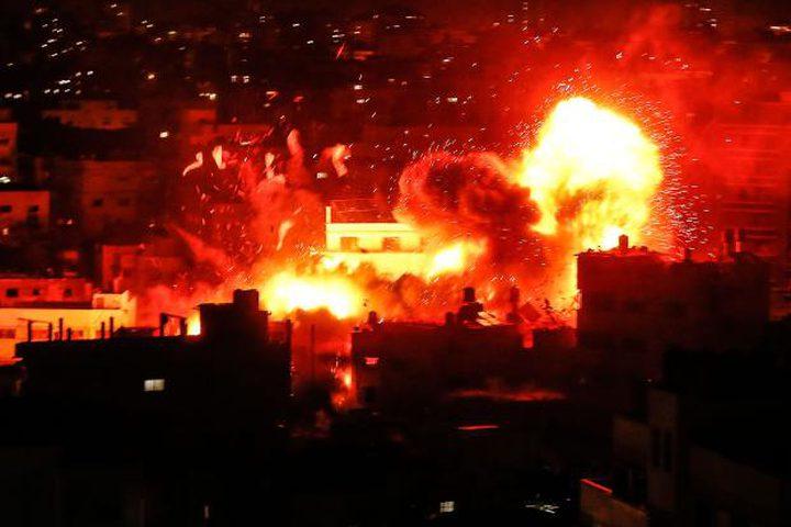 طيران الاحتلال يُغير على عدة مواقع للمقاومة في قطاع غزة