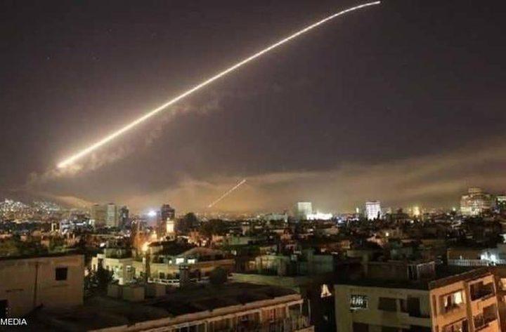 الدفاعات الجوية السورية تتصدى لعدوان إسرائيلي استهدف دمشق
