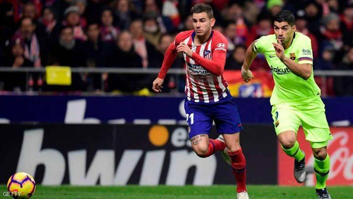 دفعة كبيرة لأتلتيكو مدريد.. عودة هيرنانديز للملاعب