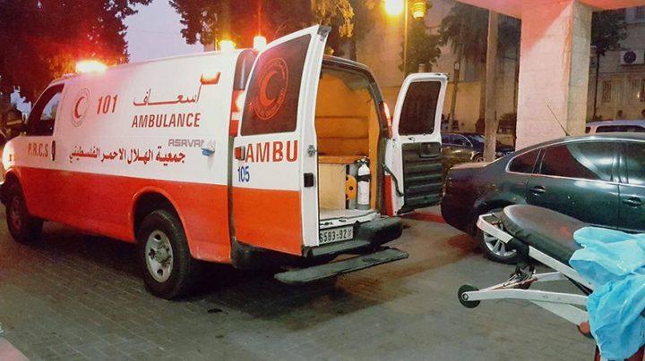 وفاة مواطنة بحادث سير وقع قبل اسبوعين غرب غزة
