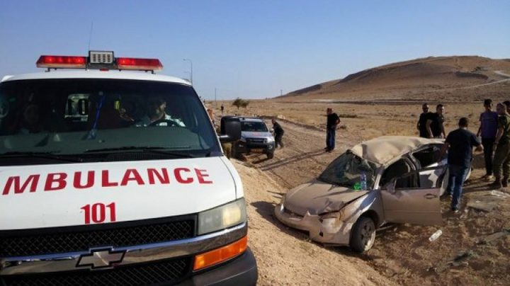 خمس إصابات خلال حادث سير جنوب بيت لحم