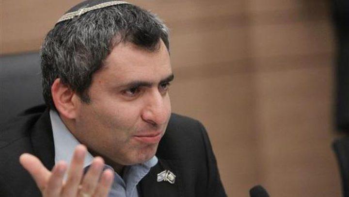 وزير إسرائيلي: لن ندخل المساعدات لغزة قبل الهدوء