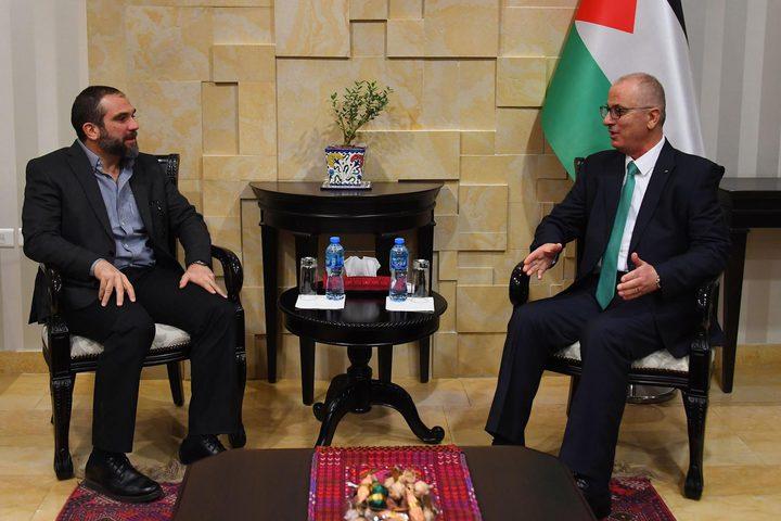 الحمد الله يستقبل رئيس الاتحاد الأردني للملاكمة