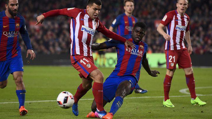 """أتليتكو مدريد يواصل مطاردة برشلونة على قمة """"الليغا"""""""