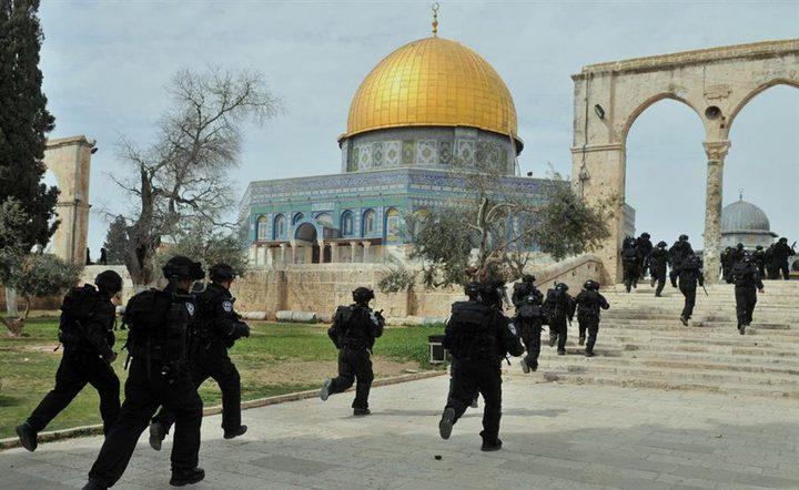 فتح تدعو للتصدي لمحاولات اقتحام الاحتلال لقبة الصخرة