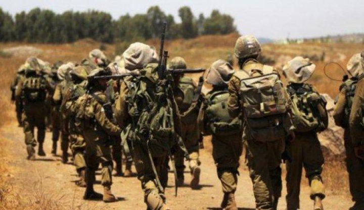 الاحتلال يجري تدريبات تحاكي تسلل مسلحين واخلاء غلاف غزة