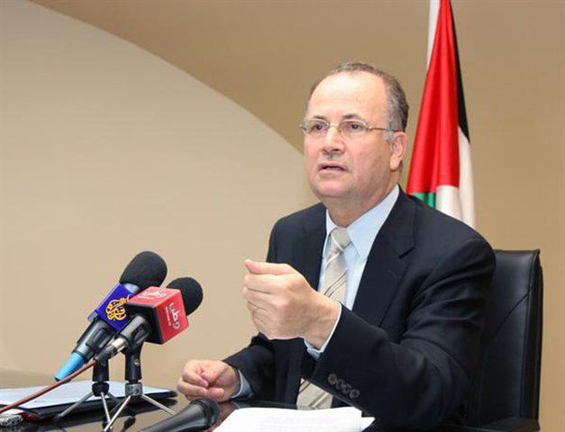 مصطفى يبحث مع الربيع سبل استثمار القطاع الخاص العربي بفلسطين