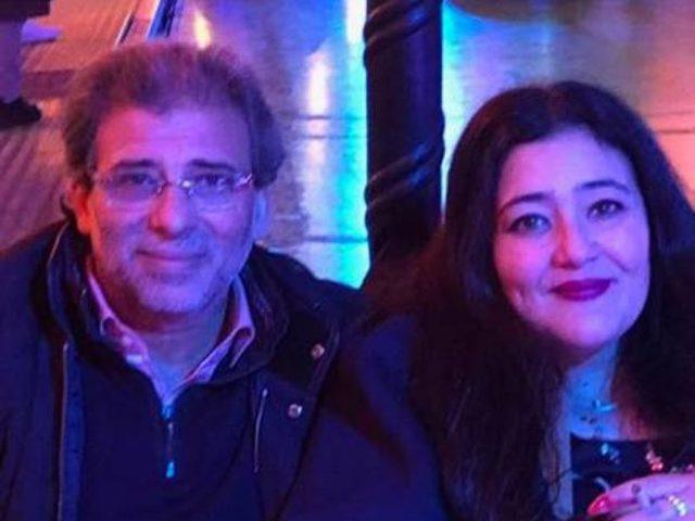 زوجة خالد يوسف ترد على زواجه من ياسمين الخطيب
