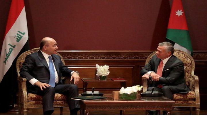 ملك الأردن يصل الى بغداد في زيارة هي الأولى منذ 10 سنوات