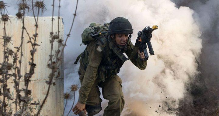 الاحتلال يجري تدريبات عسكرية على حدود غزة