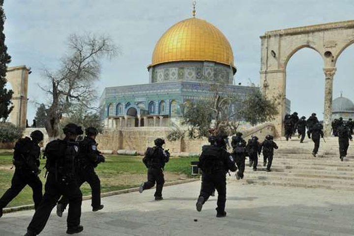 الإيسيسكو تدين اقتحام شرطة الاحتلال باحات المسجد الأقصى