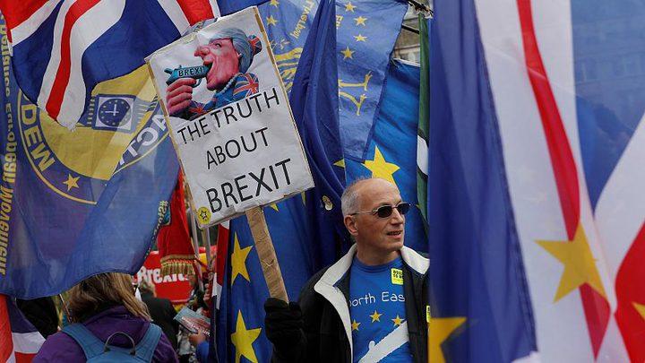 """استياء أوروبي بعد رفض اتفاق """"بريكست"""""""