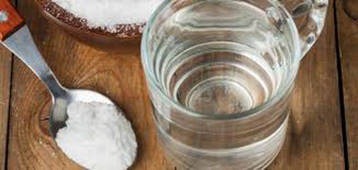 10 فوائد مذهلة للمحلول الملح والماء..تعرف عليها