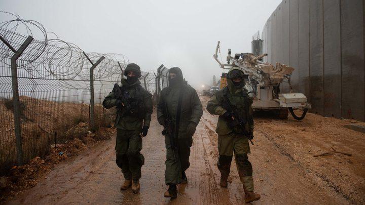 قوات الاحتلال تحقق في حادثة تسلل شخص إلى لبنان
