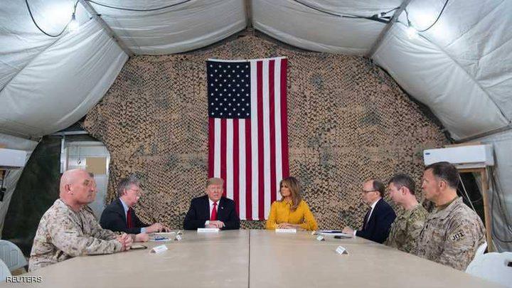 """45 دقيقة في العراق """"غيرت رأي ترامب"""" بشأن الانسحاب من سوريا"""