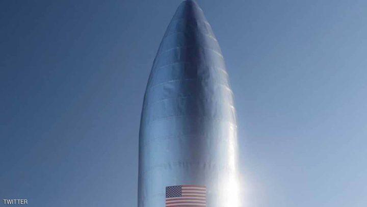 """سبيس إكس تكشف عن نموذج """"سفينة النجوم"""""""