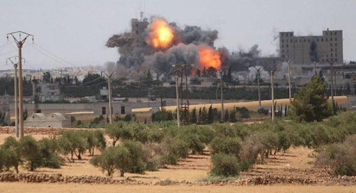 تأكيدات بنقل جنود أمريكيين بعد انفجار منبج و10 قتلى عسكريين