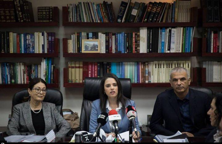 """""""فضيحة فساد"""" تهز المؤسسة القضائية في إسرائيل وتطال شاكيد"""