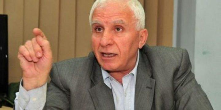 الأحمد يطلع الرئيس اللبناني على الأوضاع في الأرض الفلسطينية