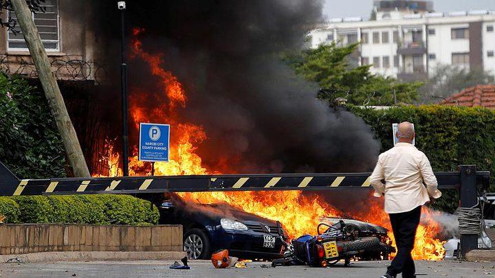 الرئاسة الكينية تعلن مقتل 14 شخصا خلال حادث الهجوم على فندق