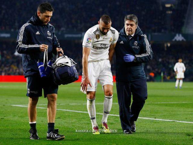عملية جراحية تُغيب بنزيما عن ريال مدريد