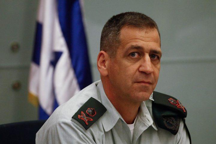 كوخافي يعقد مناقشاته الأولى مع قيادة قوات الاحتلال بشأن غزة