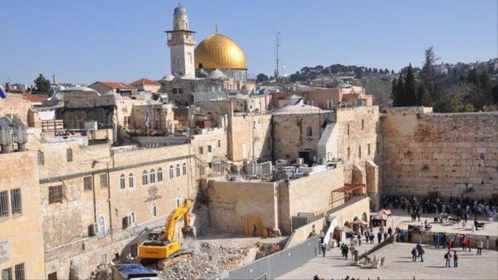الاحتلال يعمل على تغيير الوضع التاريخي والقانوني بالقدس