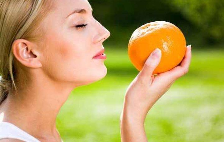 استنشق رائحة البرتقال ان لم ترغب بتناوله!
