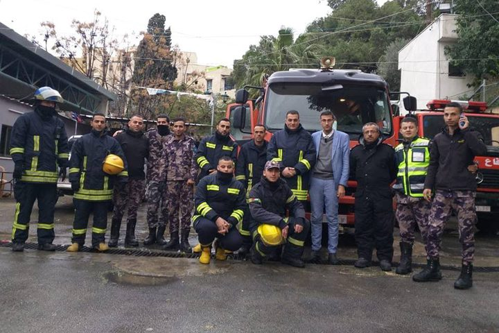 الدفاع المدني يتعامل مع 123 حادثا في مختلف المحافظات