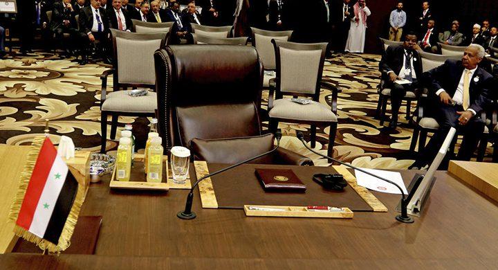 العراق يكشف رسميا عن اتصالات لإعادة سوريا إلى مقعدها العربي