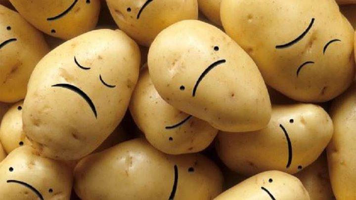 """أغلبية البطاطا في العالم تعاني من """"الاكتئاب الشديد""""!"""