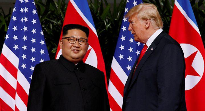 ترامب يعلن اختيار بلد لاستضافة قمته الثانية مع كيم جونغ اون
