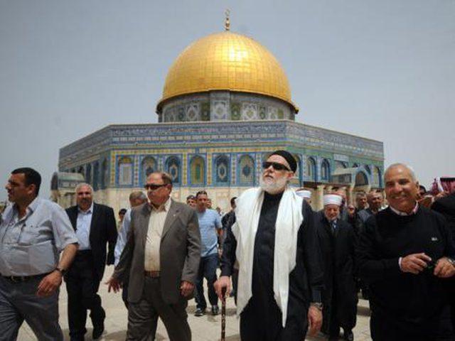 المفتي حسين والمحافظ غيث يؤكدان أهمية زيارة القدس